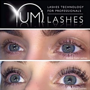 YUMI lash lift and tint