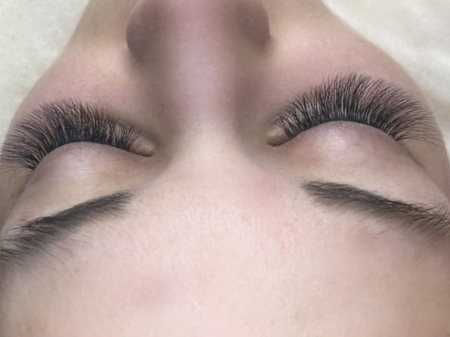 3D Eyelash Extensions. Sofia lahses