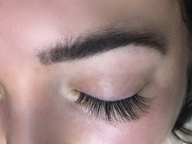 "Hybrid Lashes. At ""Sofia Lashes"". $120 for a full set."