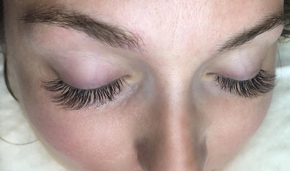1c821de8fb7 Hybrid eyelash extensions by Sofia Lashes. $120 full set. .