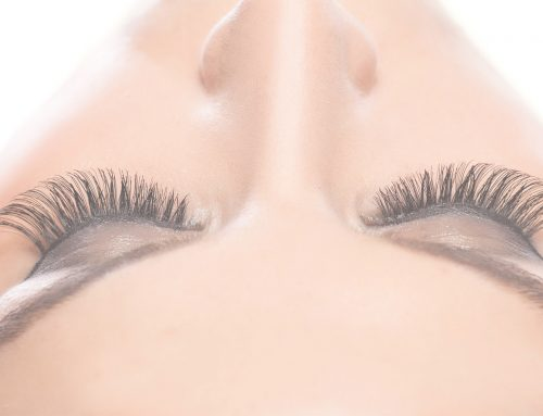 When your natural lashes need a break from lash extensions